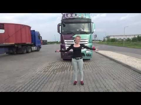 Trucking Girl & Nowy Mercedes Actros ep. 49