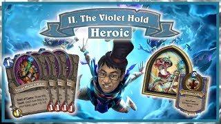 The Dalaran Heist Ch.2 Heroic - INSANE FREE WIN DECK! | Rise of Shadows | Hearthstone
