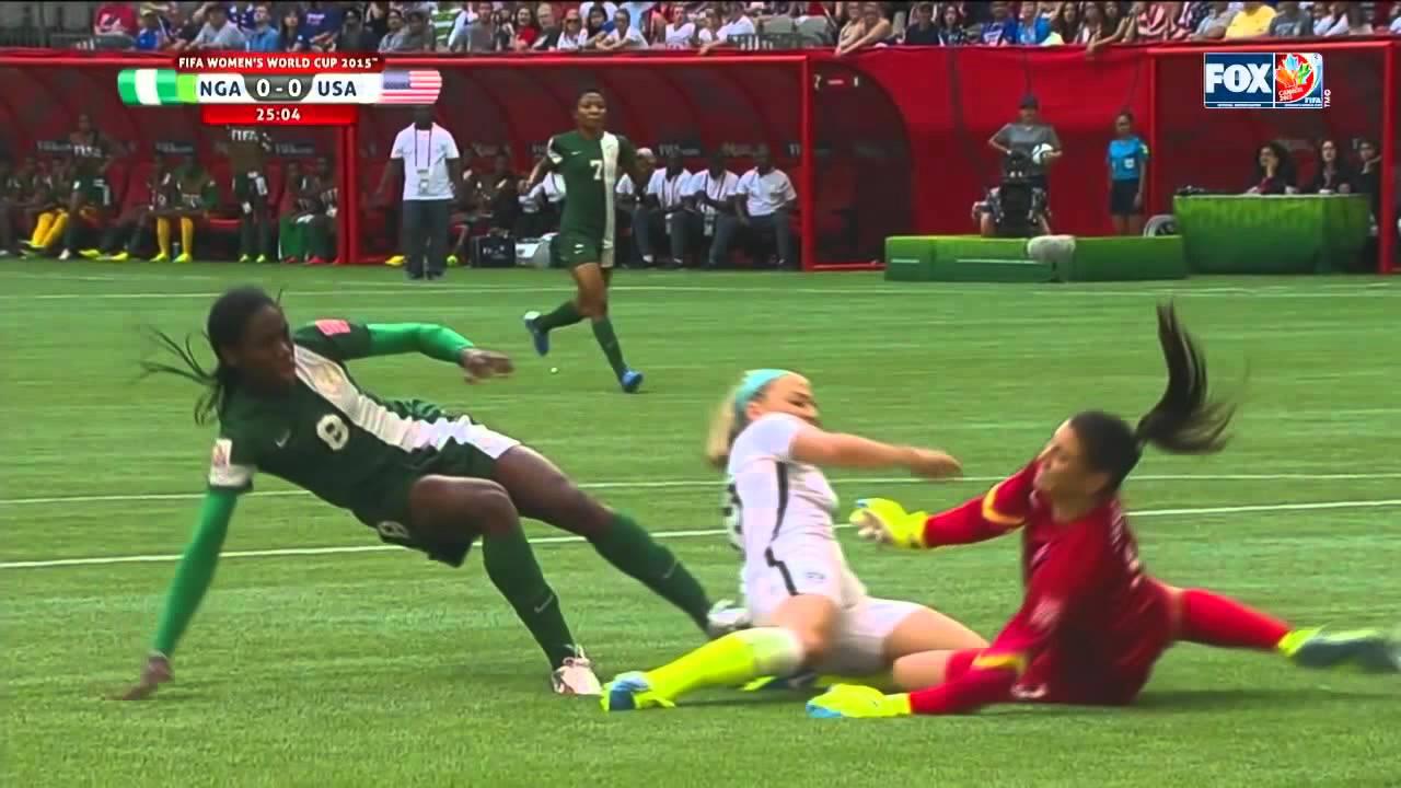 Julie Johnston vs. Nigeria - WWC 2015