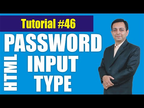 350# How To Use Password Input Type In HTML (Hindi) || HTML Tutorial 46