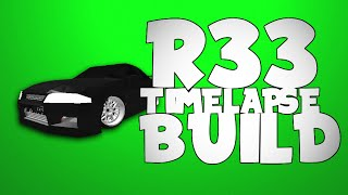 ROBLOX-Nissan Skyline R33 lapso de tempo