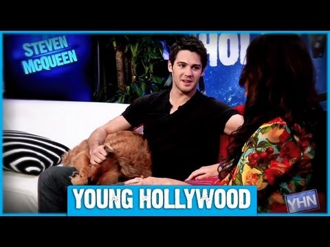 What Scares VAMPIRE DIARIES Star Steven McQueen?  STUDIO SECRETS