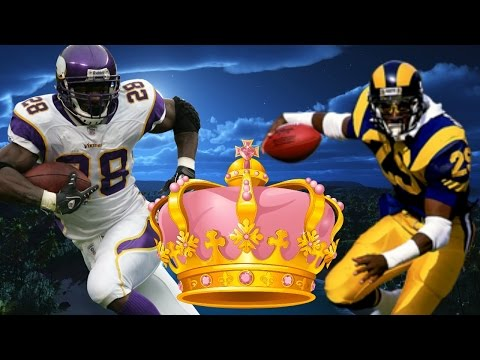 COULD ADRIAN PETERSON BEAT ERIC DICKERSON