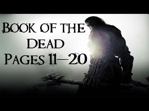 Darksiders 2 Collectibles Walkthrough - Book of the Dead Pages 11-20