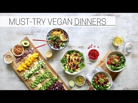 EASY VEGAN DINNER RECIPES » nourish bowls