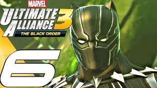 Marvel Ultimate Alliance 3 - Gameplay Walkthrough Part 6 - Wakanda (Full Game) Switch
