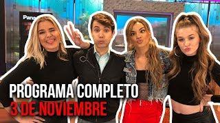 Cinescape 03 de noviembre (Programa Completo)