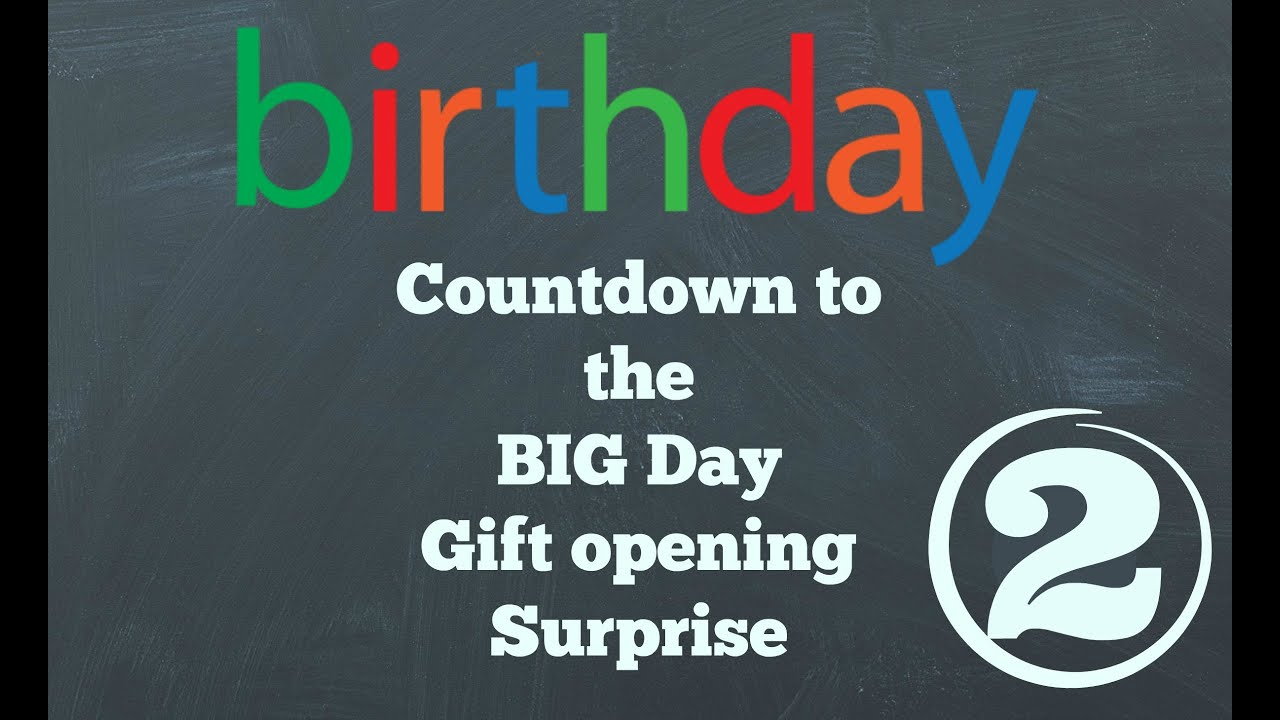 Surprise Birthday Countdown Day 2 / Toy Review - YouTube