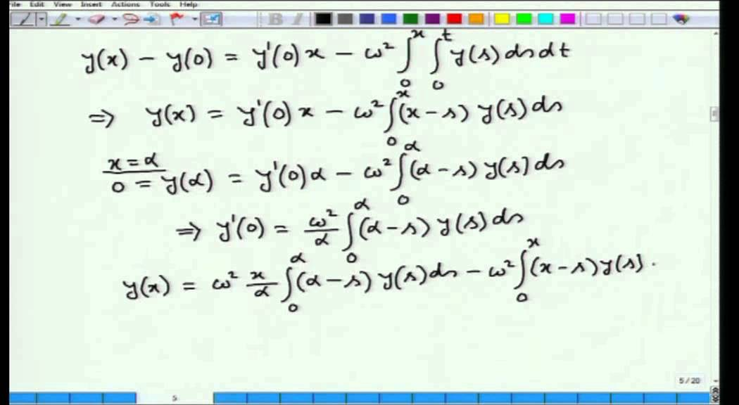 Mod-01 Lec-21 Calculus of Variations and Integral Equations