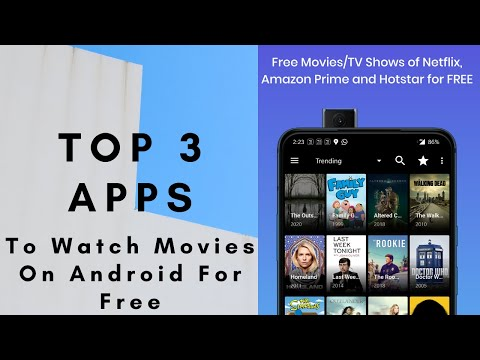Top 3 Apps to watch Movies/TV Shows for free on Android | 2020 | Best App
