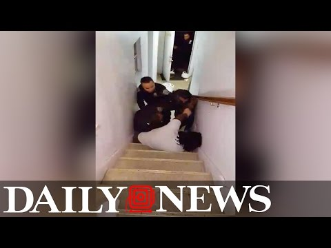 Queens man beaten and arrested by NYPD after walking dog