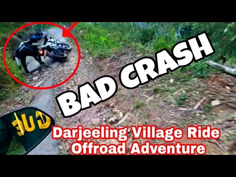 My First MotoVlog and a Bad Crash