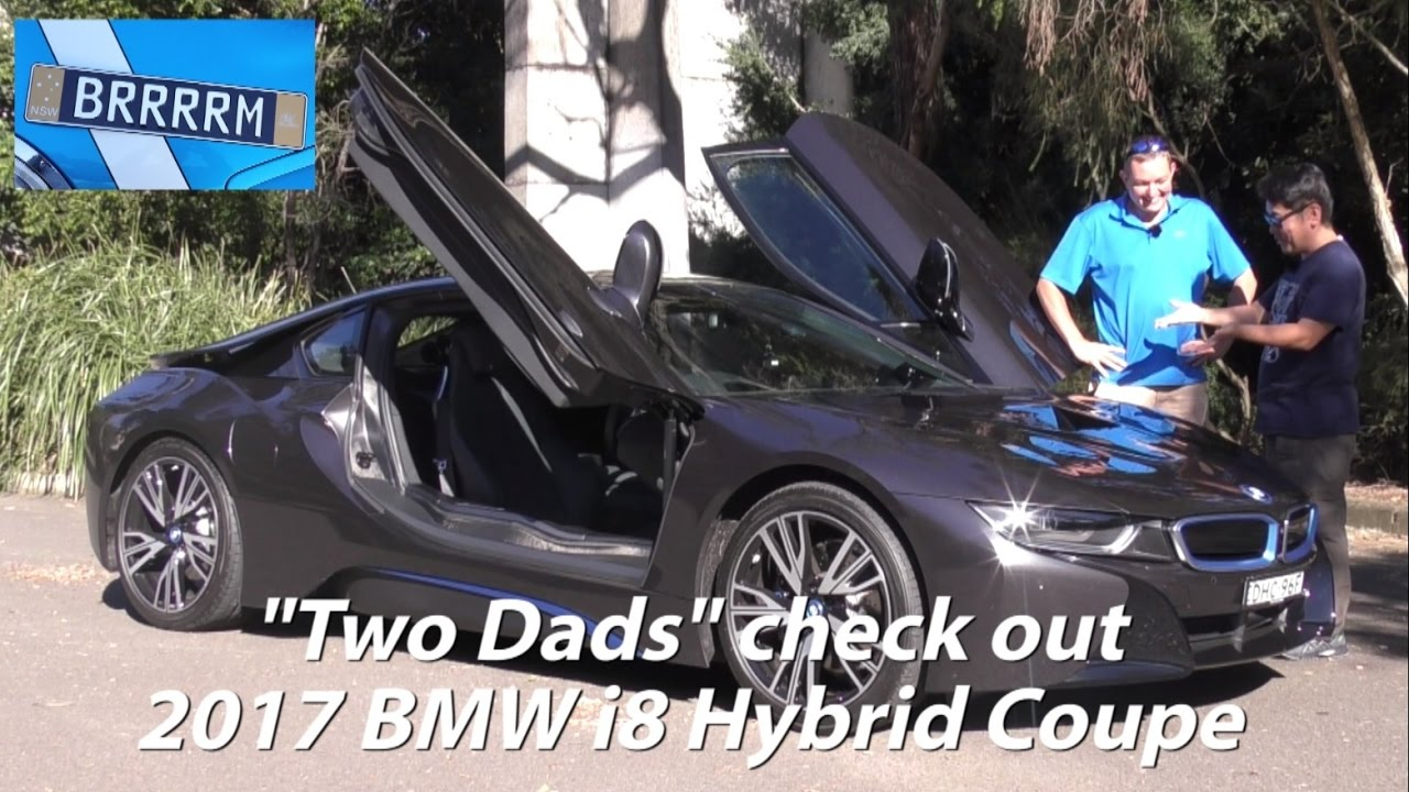 2017 Bmw I8 Hybrid Coupe Two Dads Review Brrrrm Australia