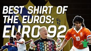 Classic Shirt Friday - Best Shirt of the Euros: Euro 92