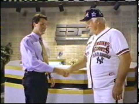 ESPN Sportscenter commercial - Gaylord Perry and Vaseline