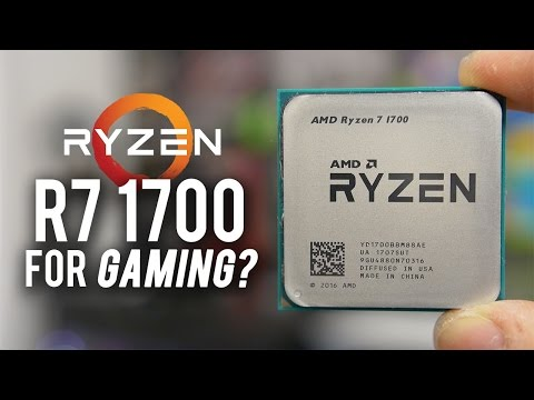 Ryzen R7 1700 GAMING BENCHMARKS (7 games tested vs. 7700K!)