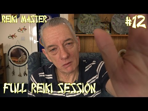 Reiki ASMR Energy Healing Session #12 Sleep Relaxation Anxiety Stress Relief Depression Grief