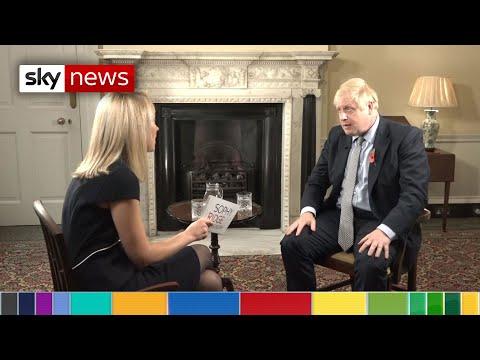 In full: Boris Johnson speaks to Sky News' Sophy Ridge