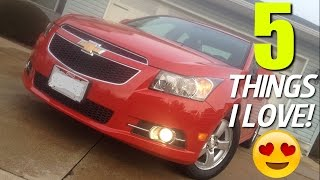 5 Things I Love About My Chevrolet Cruze!
