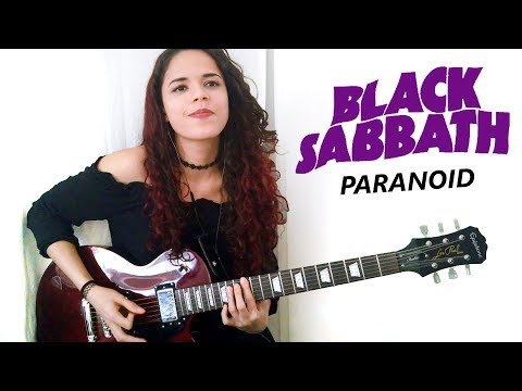 Black Sabbath - Paranoid Guitar Cover | Noelle dos Anjos
