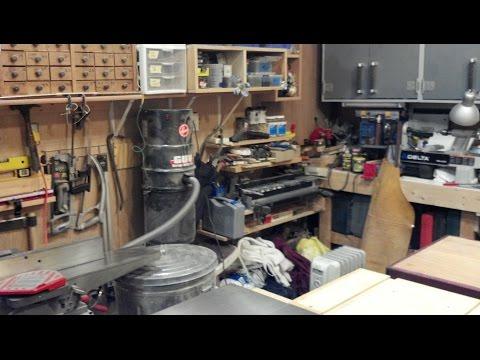 Shop Tour Part 2 & Build A Guitar Amp Part 1A