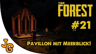 The Forest #21 - Pavillon mit Meerblick!  - Let's Play - Deutsch - German - Gameplay - HD thumbnail
