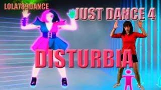 Just Dance 4-Disturbia (5 stars Kinect)