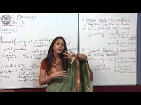 Introduction, functions and features of stock exchange Class XII Business Studies by Dr Heena Rana