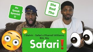 J Balvin - Safari ft. Pharrell Williams, BIA, Sky Official Reaction