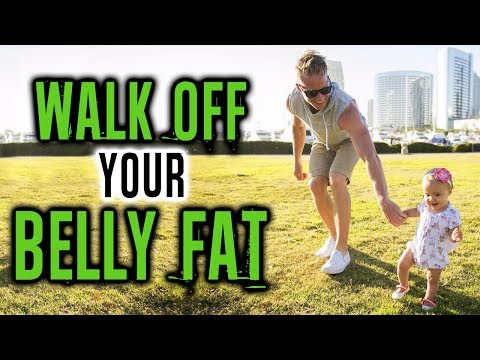 Does Walking Burn Belly Fat? (MAKE SURE TO DO THIS DURING YOUR WALKS) | LiveLeanTV