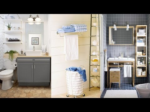 10 Storage Ideas for Small bathrooms