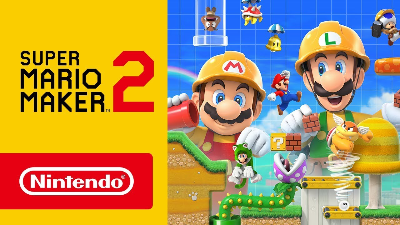 Image result for mario maker 2