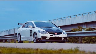 Honda Civic FD2 With J'S Racing Concept