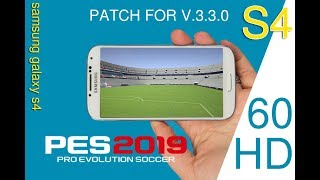 VIDEO Update PES2019 MOBILE RAM2GB HD PATCH FOR V.3.3.0  PATCH Stadium 368MB