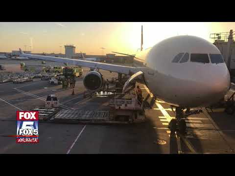 Delta flight makes emergency landing after engine fire