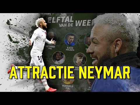 Attractie Neymar Is Een Kruising Tussen Messi & Mbappé + Goals & Assists