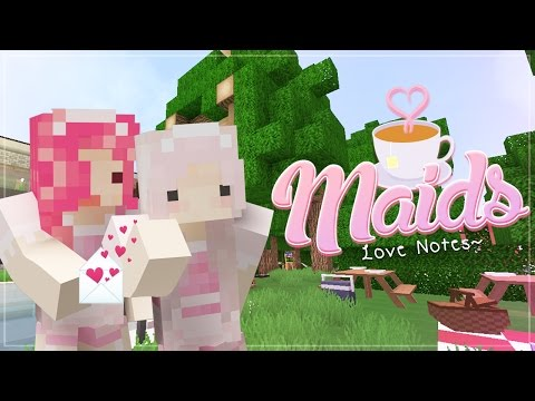 "Minecraft Maids! ""LOVE NOTES"" Roleplay ♡87"