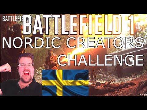 BATTLEFIELD 1- Nordic Creators Challenge (in collaboration with EA Games)