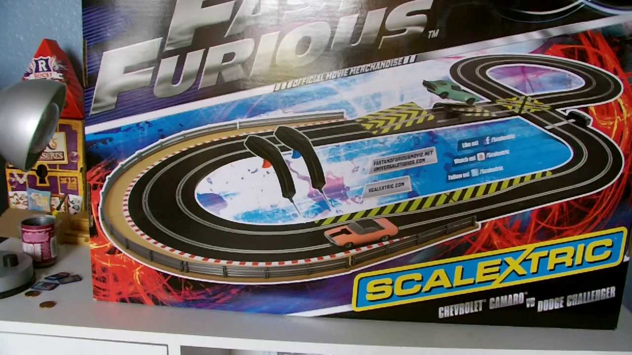 Scalextric Set Review Fast And Furious 6 Youtube