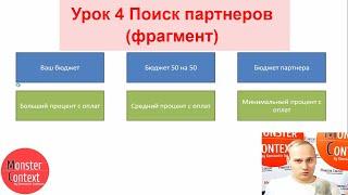 Урок 4 Поиск партнеров (фрагмент)
