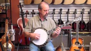 "New Huber Mahogany ""Workhorse"" 5 String Banjo"