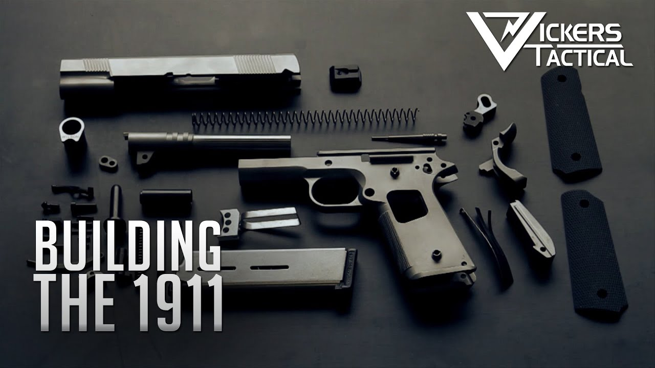 Building The 1911   YouTube