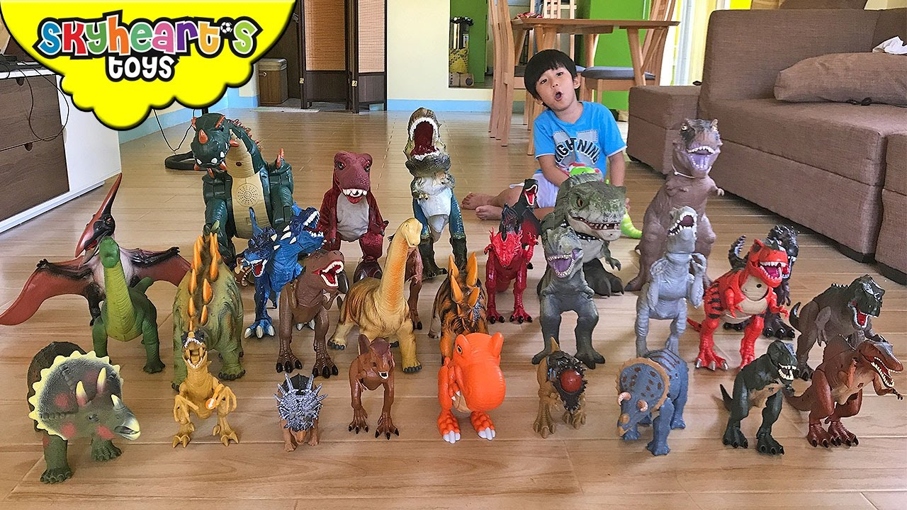 Dinosaurs Toys Collection : Skyheart s dinosaurs toys collection trex animal pla