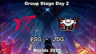 PSG vs JDG Group Day 2 WORLDS 2020 Чемпионат Мира JD Gaming vs PSG Talon
