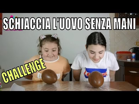 ROMPERE L&39;UOVO SENZA MANI CHALLENGE by Marghe Giulia Kawaii