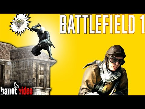 NINJA ON THE ROOF - SIDECAR KILL SPREE - Battlefield 1 Funny Moments