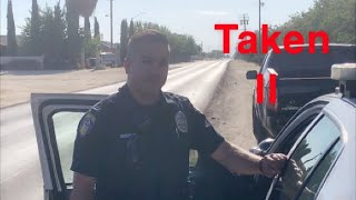 Officer Enforcing Law He Doesn't Know But Will Still Enforce It;Female Taken-1st Amendment Audit