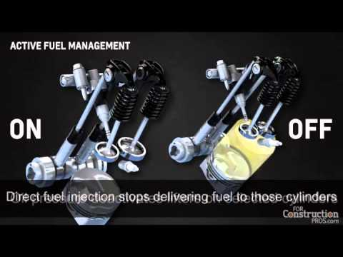 2014 Chevy Tahoe >> Video: How Chevy Turns a V8 into a Four-Cylinder - YouTube