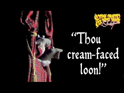 Shakespearian Insults - Scottish Falsetto Socks Do Shakespeare