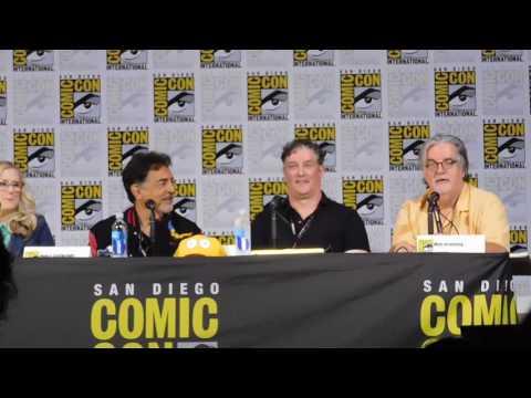 Simpsons panel @ SDCC 2017 (Nancy Cartwright, Matt Groening)